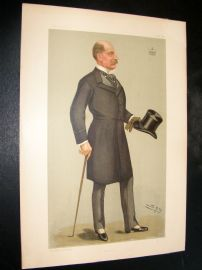 Vanity Fair Print 1898 Viscount Falmouth